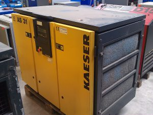 Kaeser as 31 schroefcompressor 18 kW