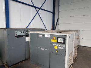 Atlas copco GA 30 VSD FF Toerengeregelde schroefcompressor 30 kW met ingebouwde koeldroger