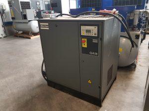 Atlas Copco Ga 18 18 kW schroefcompressor