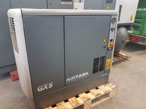 Verkocht : Atlas copco gx 5 schroefcompressor