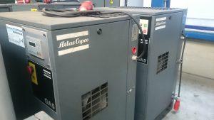 Atlas copco ga 5 schroefcompressor
