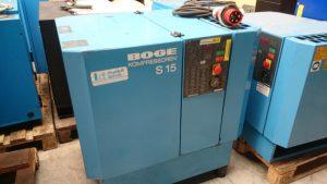Boge S15 15 KW schroefcompressor