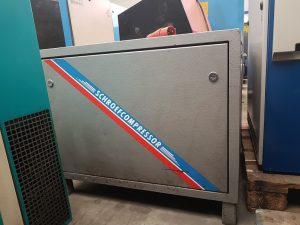 Verkocht Creemers RC 7 schroefcompressor