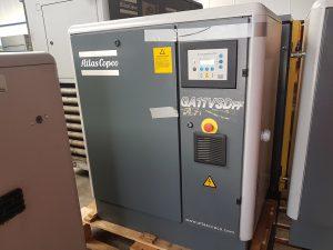 Atlas copco GA 11 VSD FF schroefcompressor met ingebouwde koeldroger
